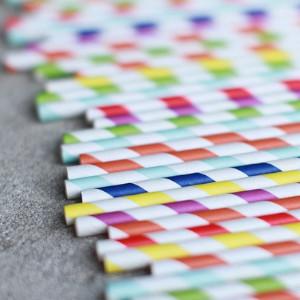 Słomki z papieru